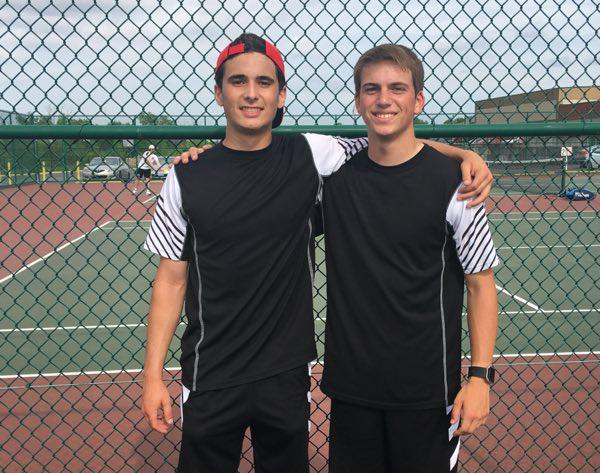 Dexter Duo Qualifies for State in Tennis